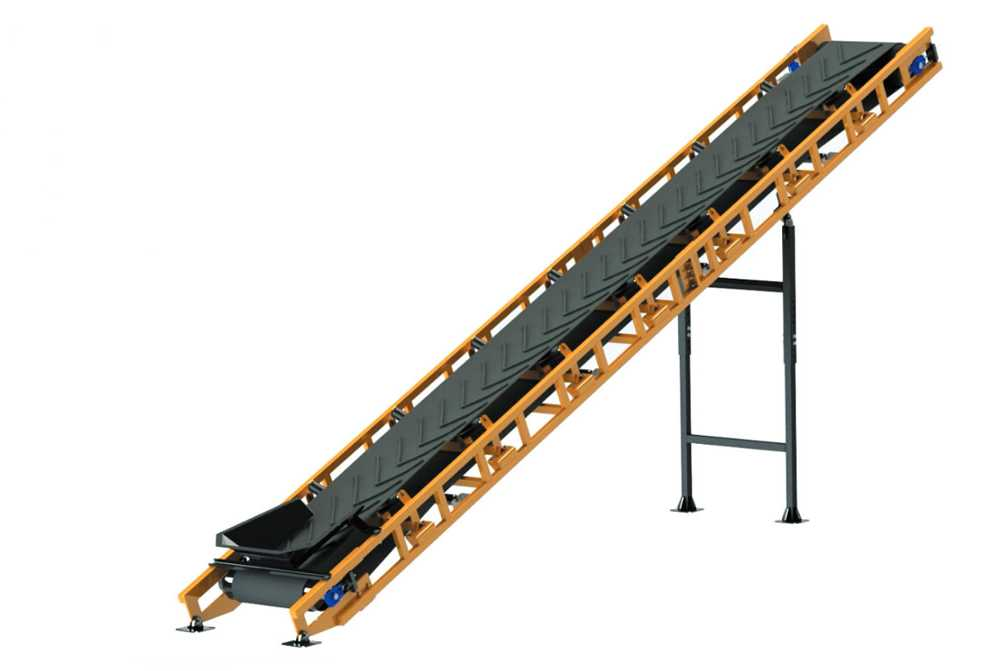 Inclined belt conveyor - foto 117